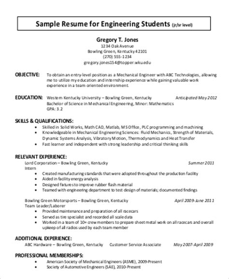 General Resume Sle by Sle General Resume 28 Images Resume General Objective