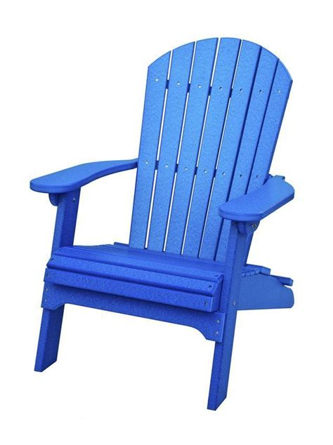 amish poly adirondack folding chair  dutchcrafters