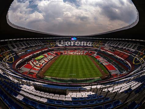 cabecera estadio azteca el estadio azteca estrena sistema de pantallas panasonic