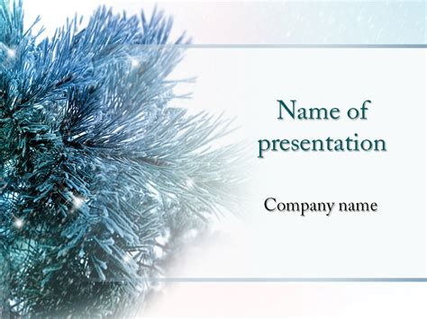 Download Free Winter Tree Powerpoint Template For Your Presentation Free Winter Powerpoint Backgrounds