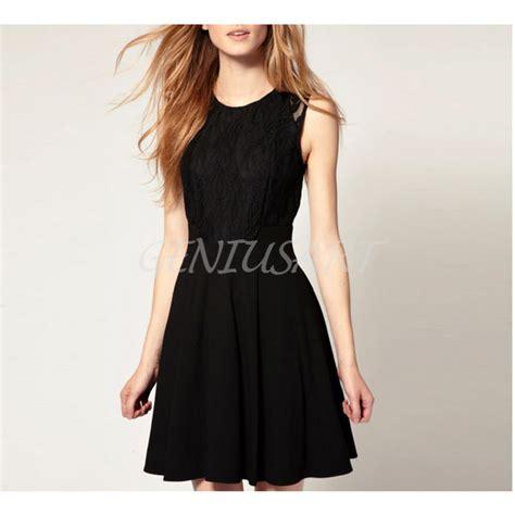 Cs Slim Casual european style princess black neck sleeveless slim
