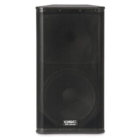 Speaker Qsc qsc kw152 active pa speaker 1000 watt at gear4music
