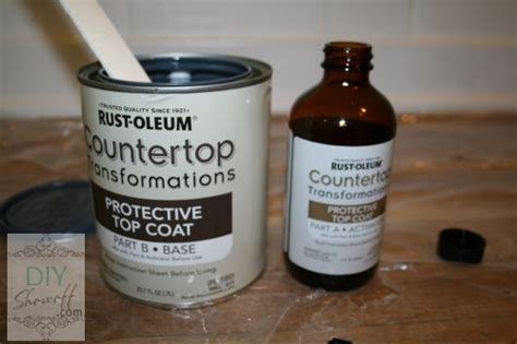 Rustoleum Countertop Protective Top Coat by Rustoleum Countertop Transformations Diy Show