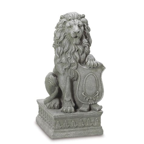 decorative figurines for home guardian lion statue your garden decor info
