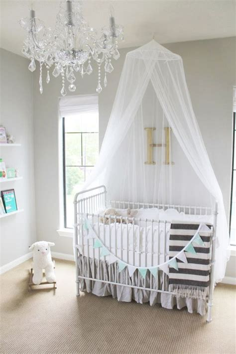 Grey And White Nursery Decor 18 Crib Canopies For Your Nursery Design Homesthetics Inspiring Ideas For Your Home