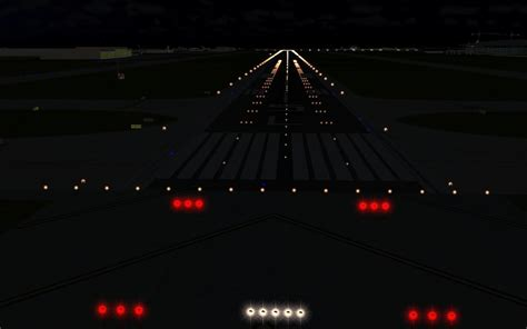 model airport runway lights in front analytics big data decision solutions