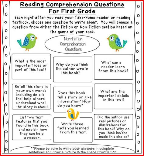 reading comprehension test for 2nd grade 2nd grade reading comprehension test kristal project