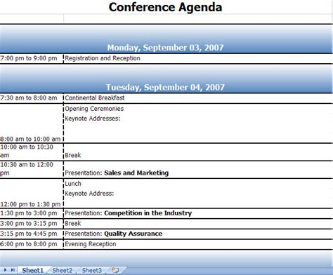 conference meeting agenda template calendar format excel search results calendar
