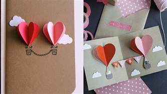 Step By Step Handmade Cards - 3d valentines handmade card how to make s card