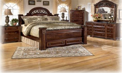 cherry finish bedroom furniture