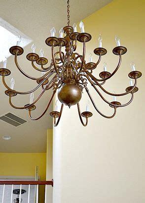 Change A Shiny Brass Light Fixture With Rustoleum Antique Spray Painting Brass Light Fixtures