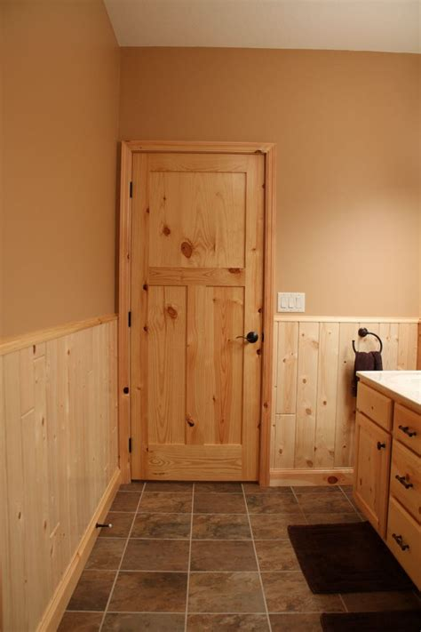 Pine Interior Doors The Charm And Of Knotty Pine Interior Doors Blogbeen
