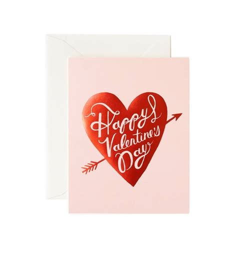 send a valentines card happy s day greeting card by rifle paper co