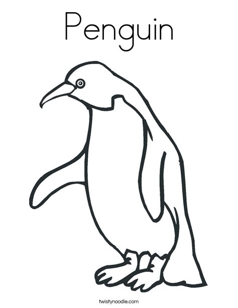 Penguin Coloring Book Pages Coloring Pages Penguin Coloring Pages