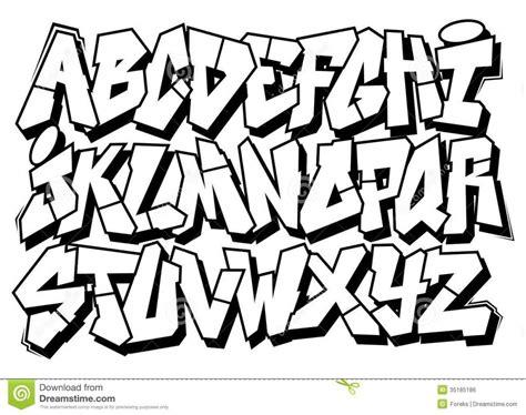 printable graffiti letters graffiti alphabet block letters a z theveliger