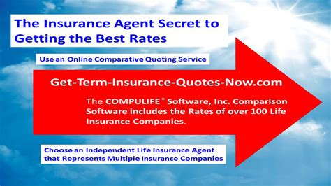 best insurance rates get term insurance quotes now 187 best way to shop for term