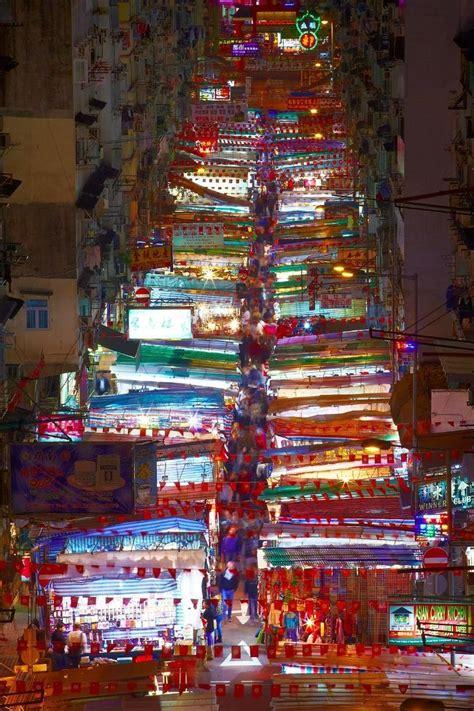 temple street night market hong kong hong kong