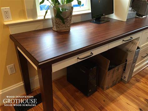 countertop office desk office wood desk top wood countertop butcherblock and