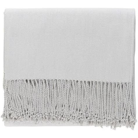 light grey throw blanket surya chantel light gray throw blanket 271 liked on