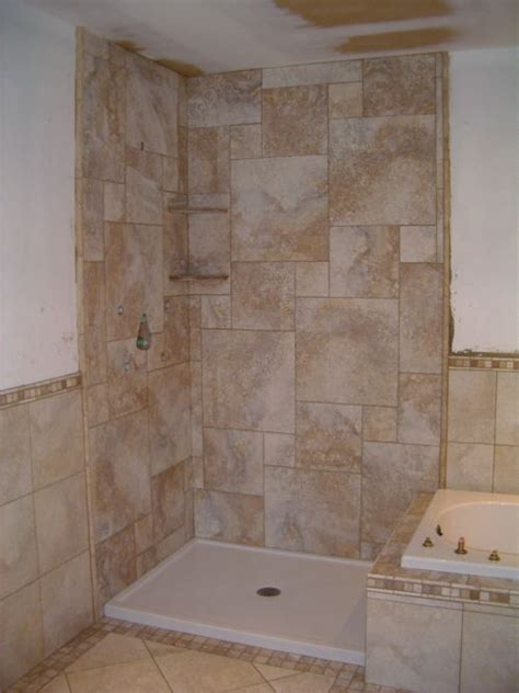 Ceramic Tiling A Shower by Tiling A Walk In Shower Studio Design Gallery Best