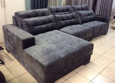 sofa com chaise retratil sofa retratil p 6 pessoas novo aruba r 4 995 00 no