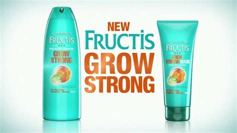 garnier fructis grow strong tv spot stronger hair song garnier fructis grow strong tv spot stronger hair song