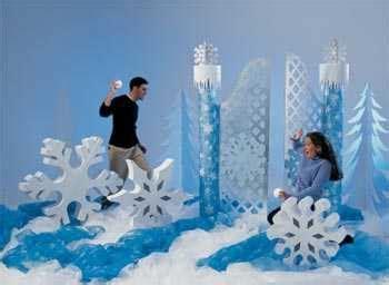 ideas para decorar una fiesta de 15 estilo invierno