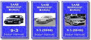 saab workshop manual 9 3 and 9 5 9 3 9 5 service