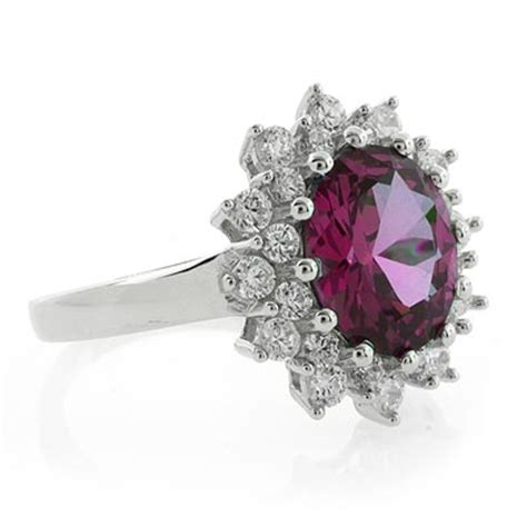 changing color alexandrite princess kate style ring