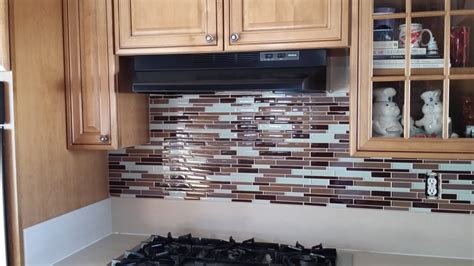 glass pencil tile backsplash yelp