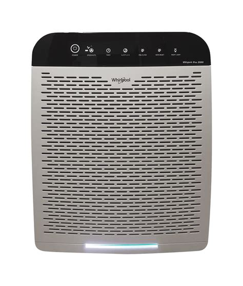whirlpool wppro whispure air purifier pearl white
