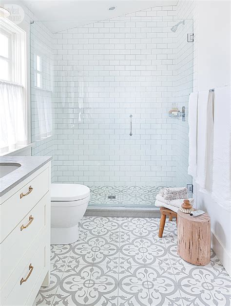 white cement for bathroom tiles house tour modern eclectic family home style at home