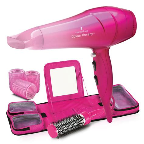 Hair Dryer Kit colour therapy pop up and hair kit colour therapy