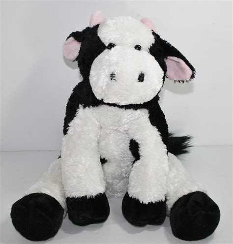 stuffed cow kohls cares cow plush click clack moo cow black white stuffed kohlscares plush stuffed