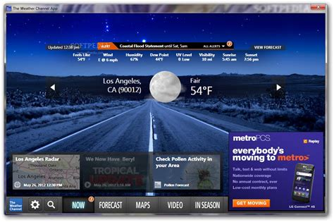 Desk Top Weather by The Weather Channel App