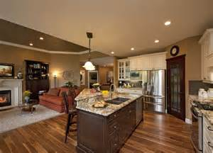 Kitchen Living Room Combo Plans 27 Best Images About Kitchen Family Room Combo On