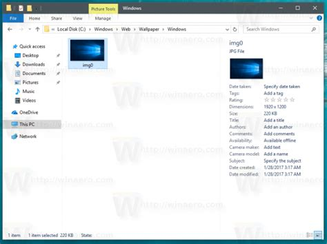 windows background themes stored where are windows 10 default wallpapers stored winaero