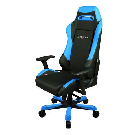 siege pc gamer dxracer iron is11 bleu oh is11 nb achat vente