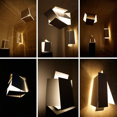 interesting lighting modular boxes of light infinitely interactive illumination
