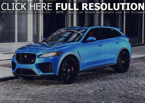 2020 Jaguar F Pace by 2020 Jaguar F Pace Svr Price And Availability Auto Suv 2018