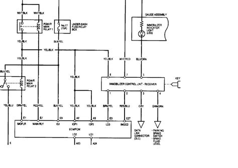immobilizer wiring key cylinder k20a org the k