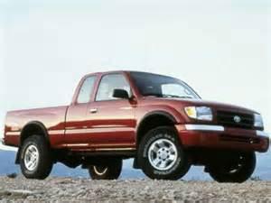 1998 Toyota Tacoma Mpg 1998 Toyota Tacoma Specs Safety Rating Mpg Carsdirect