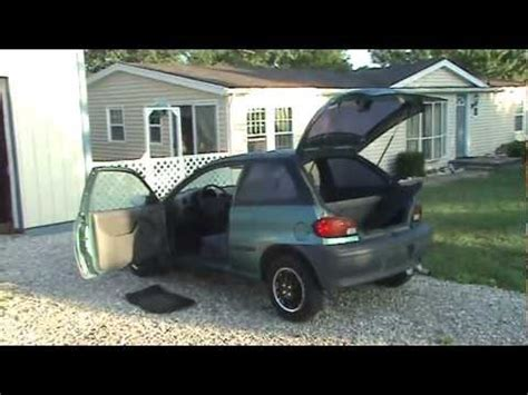 geo metro 1997 interior and removal #1 youtube