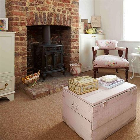 living room fireplace check out this vintage style edwardian cottage housetohome co uk