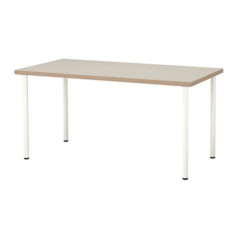 ikea tafel linnmon adils tafel beige wit ikea