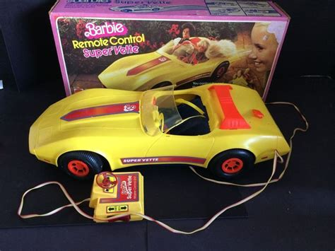 barbie corvette remote control vintage 1979 barbie rc remote control corvette just like