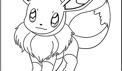 eevee coloring pages to print free coloring pages of eevee sheets