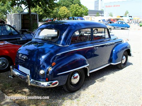 opel car 1950 1950 opel olympia information and photos momentcar
