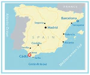 Cadiz Spain Map by Cadiz Spain Map Pictures To Pin On Pinterest Pinsdaddy