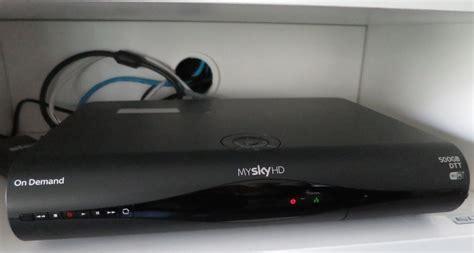 format hard disk sky hd decoder my sky hd wi fi con 500 gb potete farne richiesta